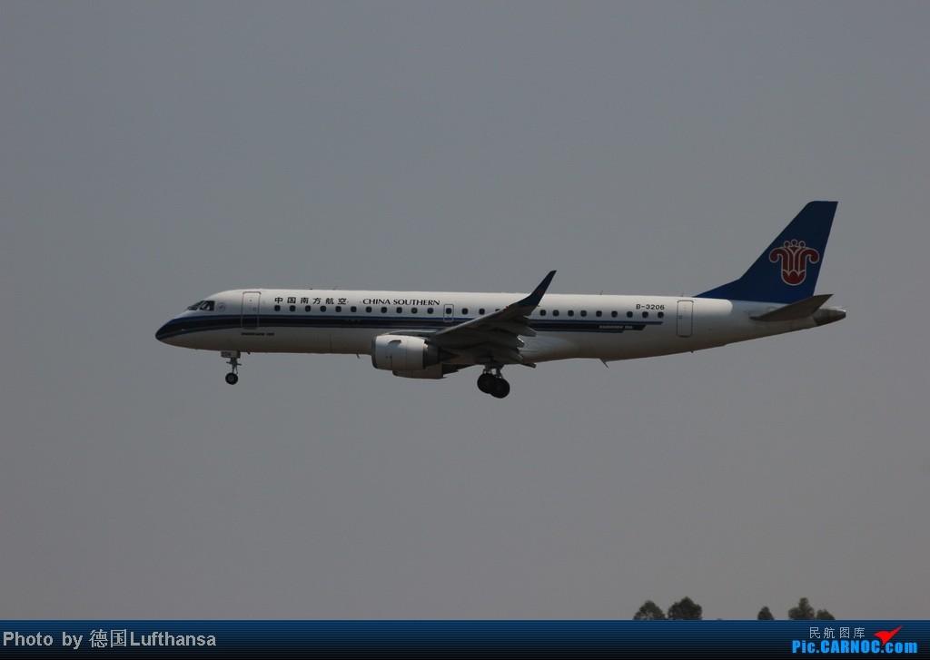 Re:[原创]今日广州白云机场随拍飞机 EMBRAER E-190 B-3206 广州白云机场