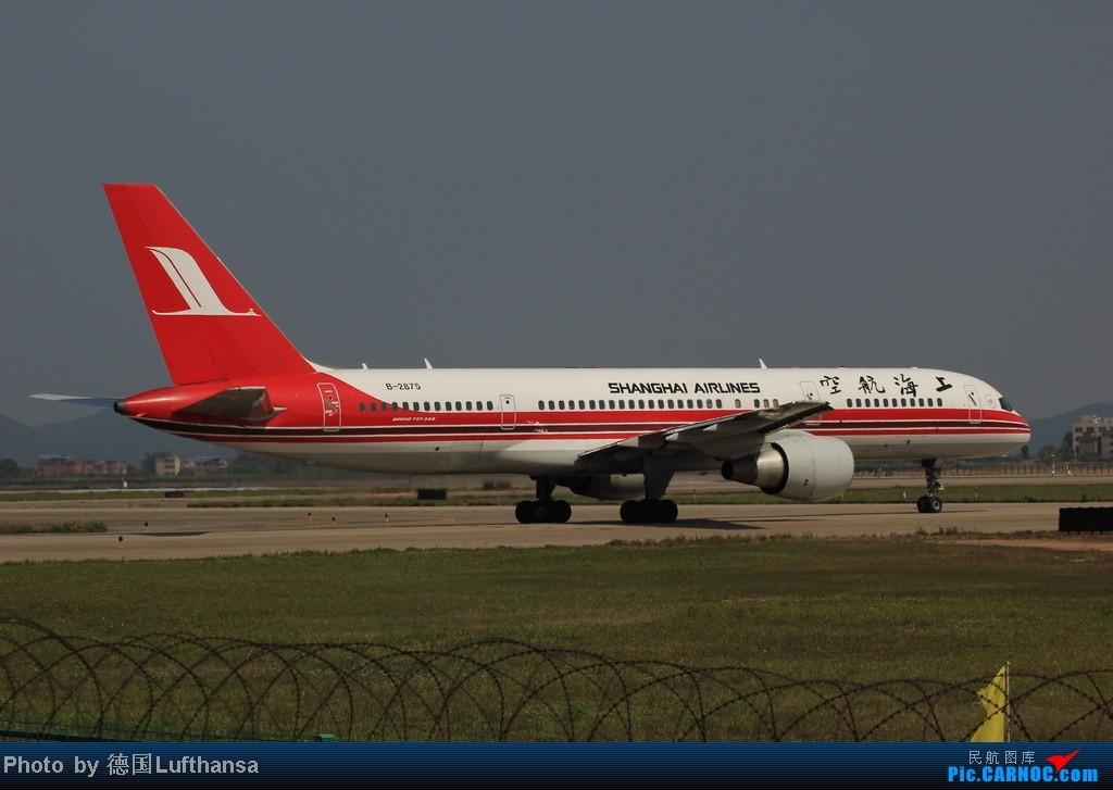 Re:[原创]今日广州白云机场随拍飞机 BOEING 757-200 B-2875