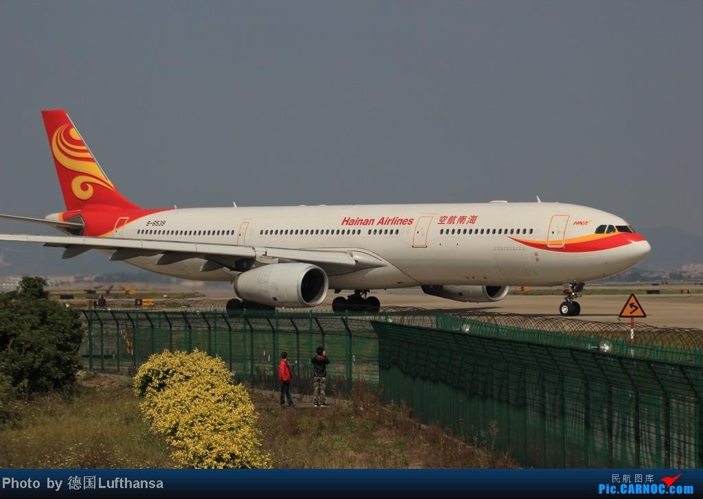 Re:[原创]今日广州白云机场随拍飞机 AIRBUS A330-300 B-6539 中国广州白云机场