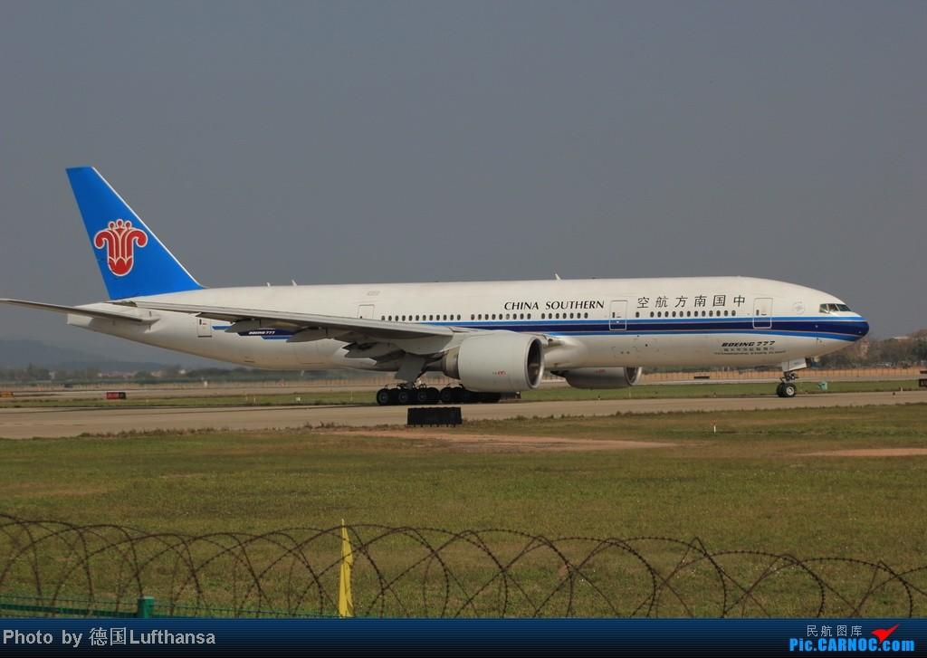 Re:[原创]今日广州白云机场随拍飞机 BOEING 777-200 B-2057 中国广州白云机场