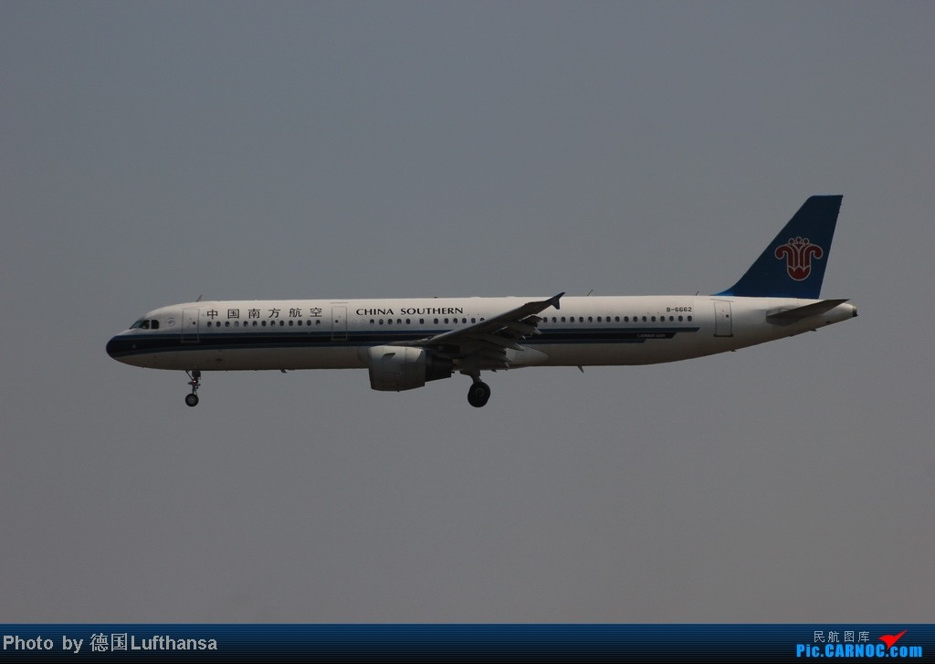 Re:[原创]今日广州白云机场随拍飞机 AIRBUS A321-200 B-6662 中国广州白云机场