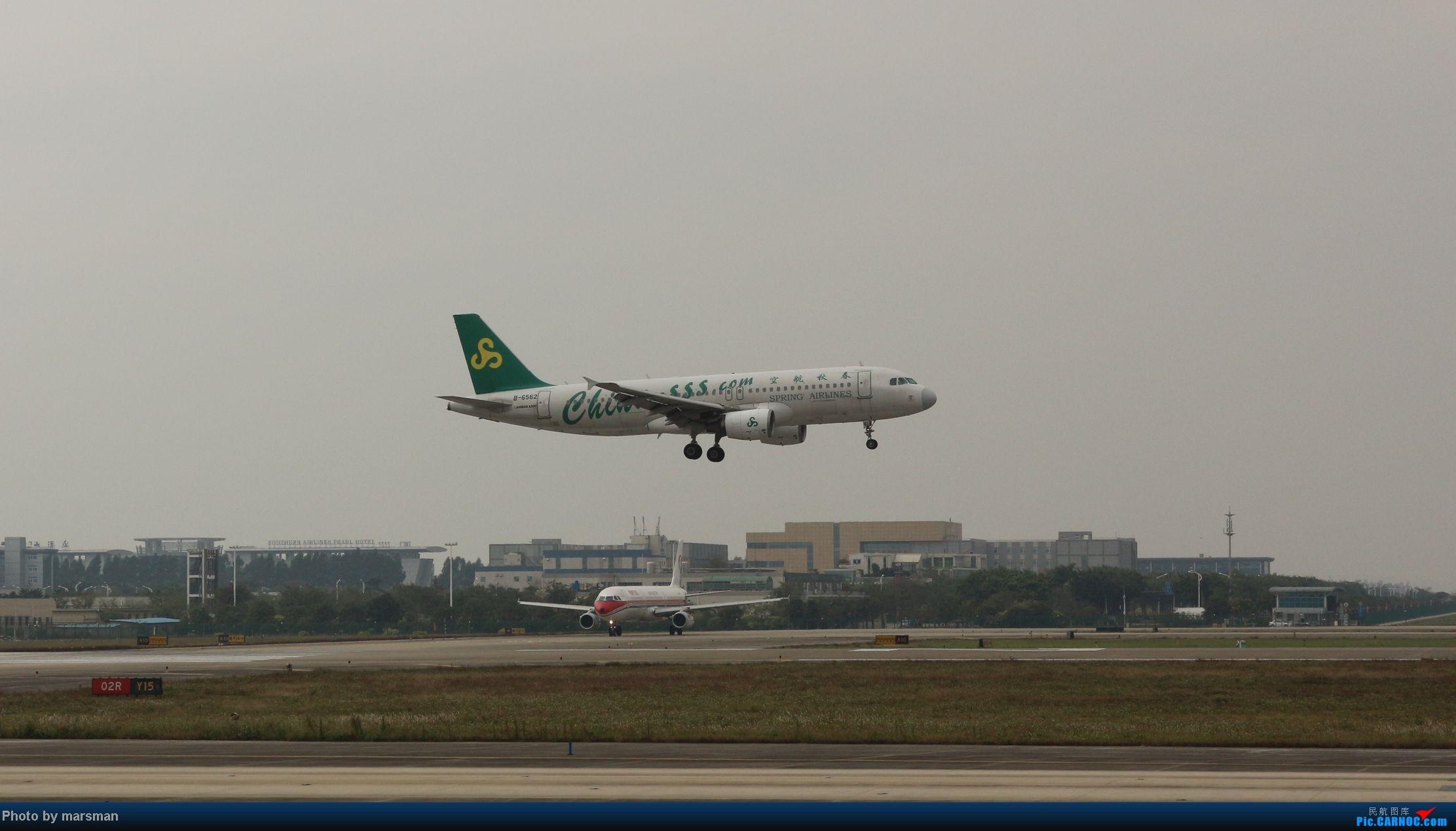 Re:[原创]广州白云机场第一次作业及新手入门简明指南 AIRBUS A320-200 B-6562 中国广州白云机场