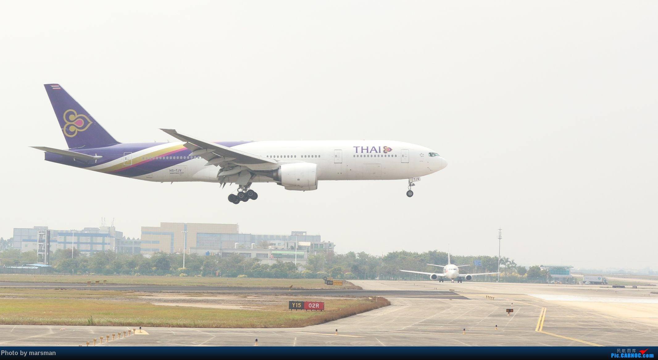 Re:[原创]广州白云机场第一次作业及新手入门简明指南 BOEING 777-300 HS-TJV 中国广州白云机场