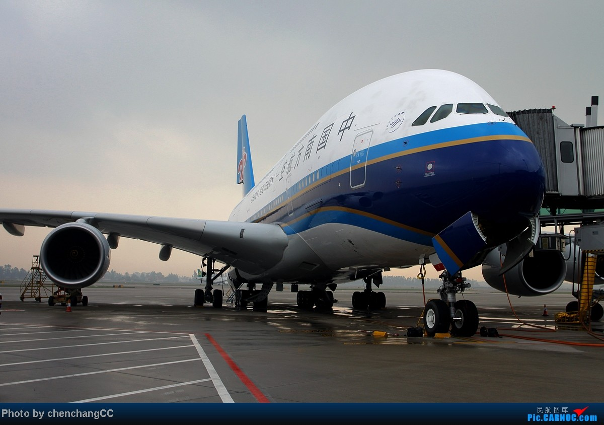 [原创]【chenchangCC】预热南航A380来昆验证飞行,380组图! AIRBUS A380 B-6137 中国广州白云机场