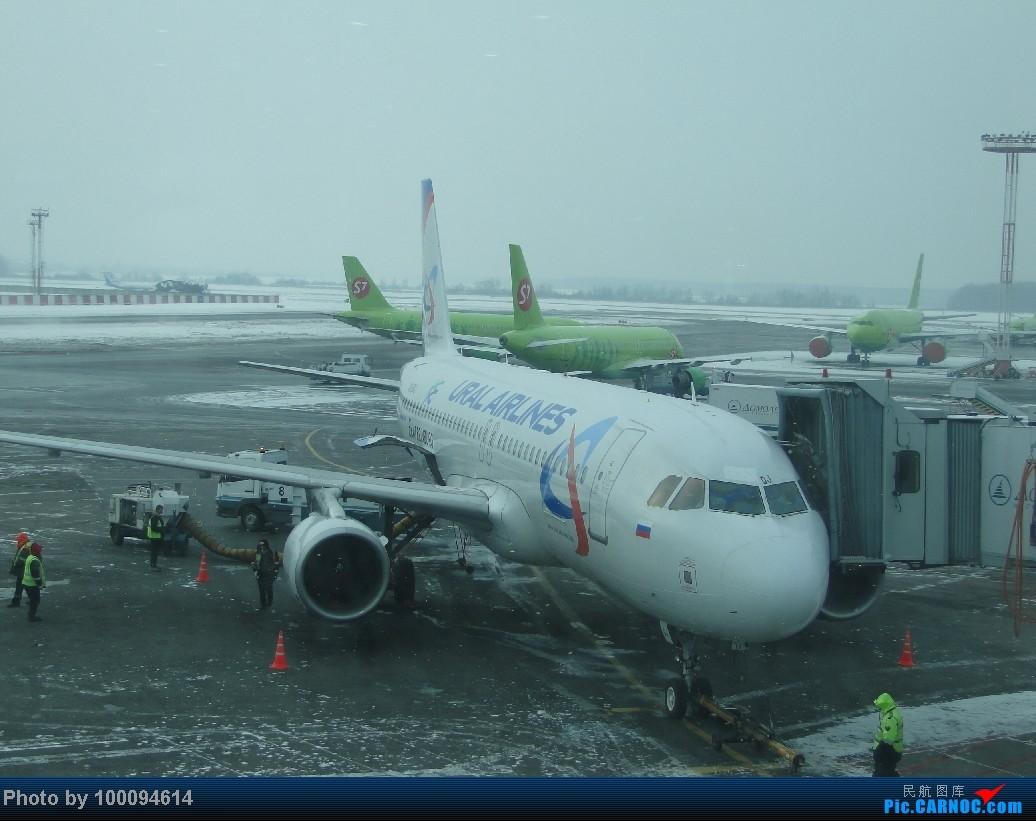 Re:[伪文艺青年游记-51]拼拼凑凑的伪文艺环球行之一,从广州折腾到露西亚,擦航国际中转HKG-PEK-SVO,绿青蛙S7航空初体验.高端大气的圣彼得堡~ A320-200 VQ-BDJ 俄罗斯多莫杰多沃机场