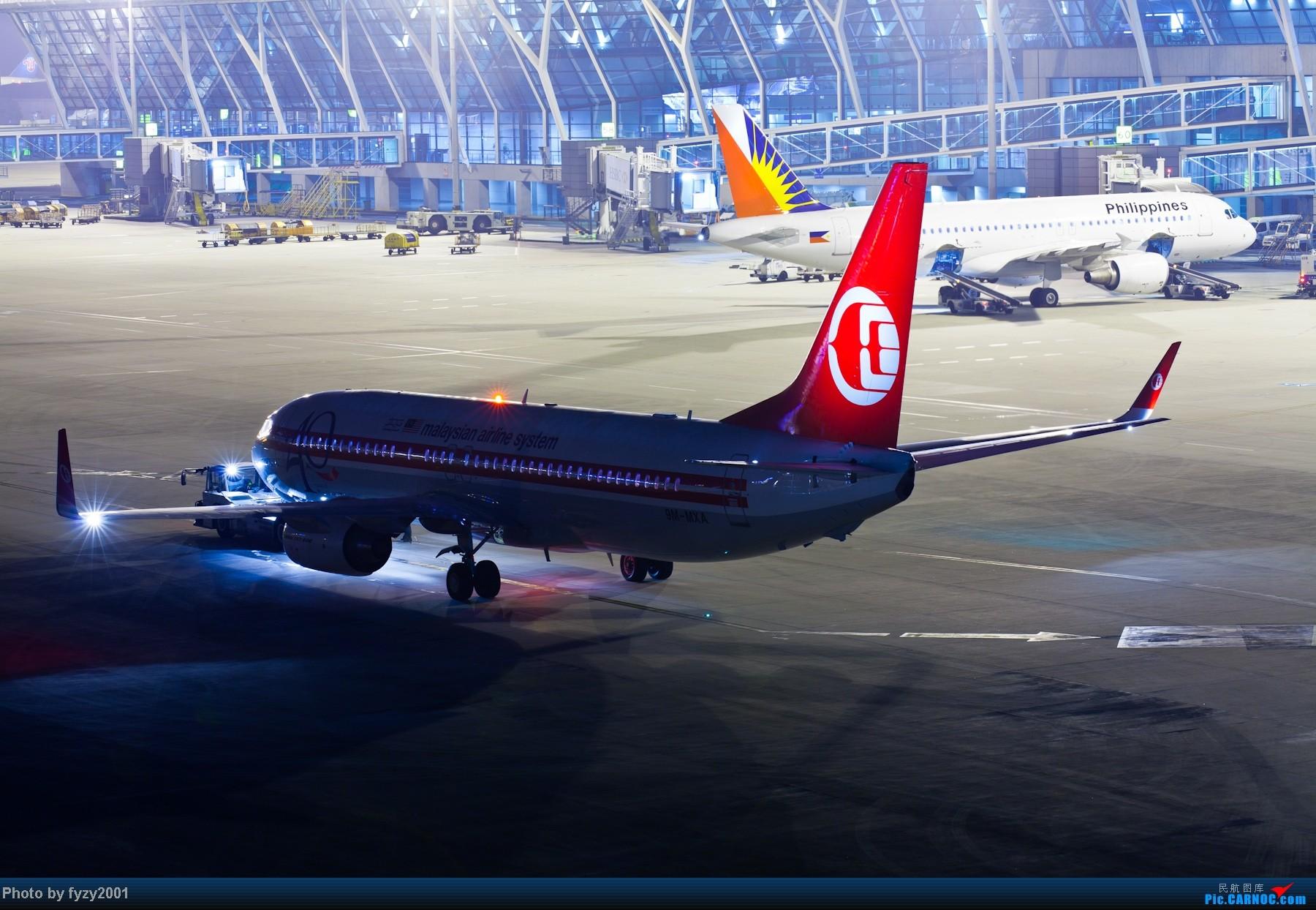 Re:[原创][无锡西站]RP爆表的拍摄-1800超大图 BOEING 737-800 9M-MXA 中国上海浦东机场