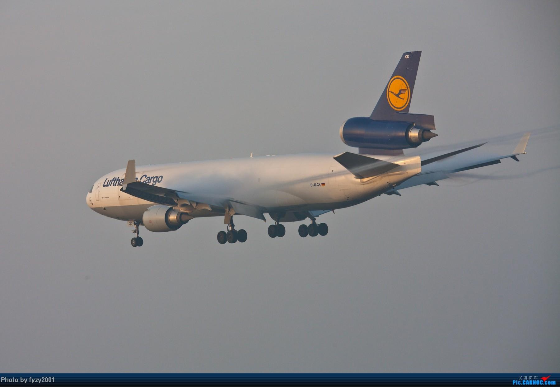 Re:[原创][无锡西站]RP爆表的拍摄-1800超大图 MCDONNELL DOUGLAS MD-11 D-ALCK 中国上海浦东机场