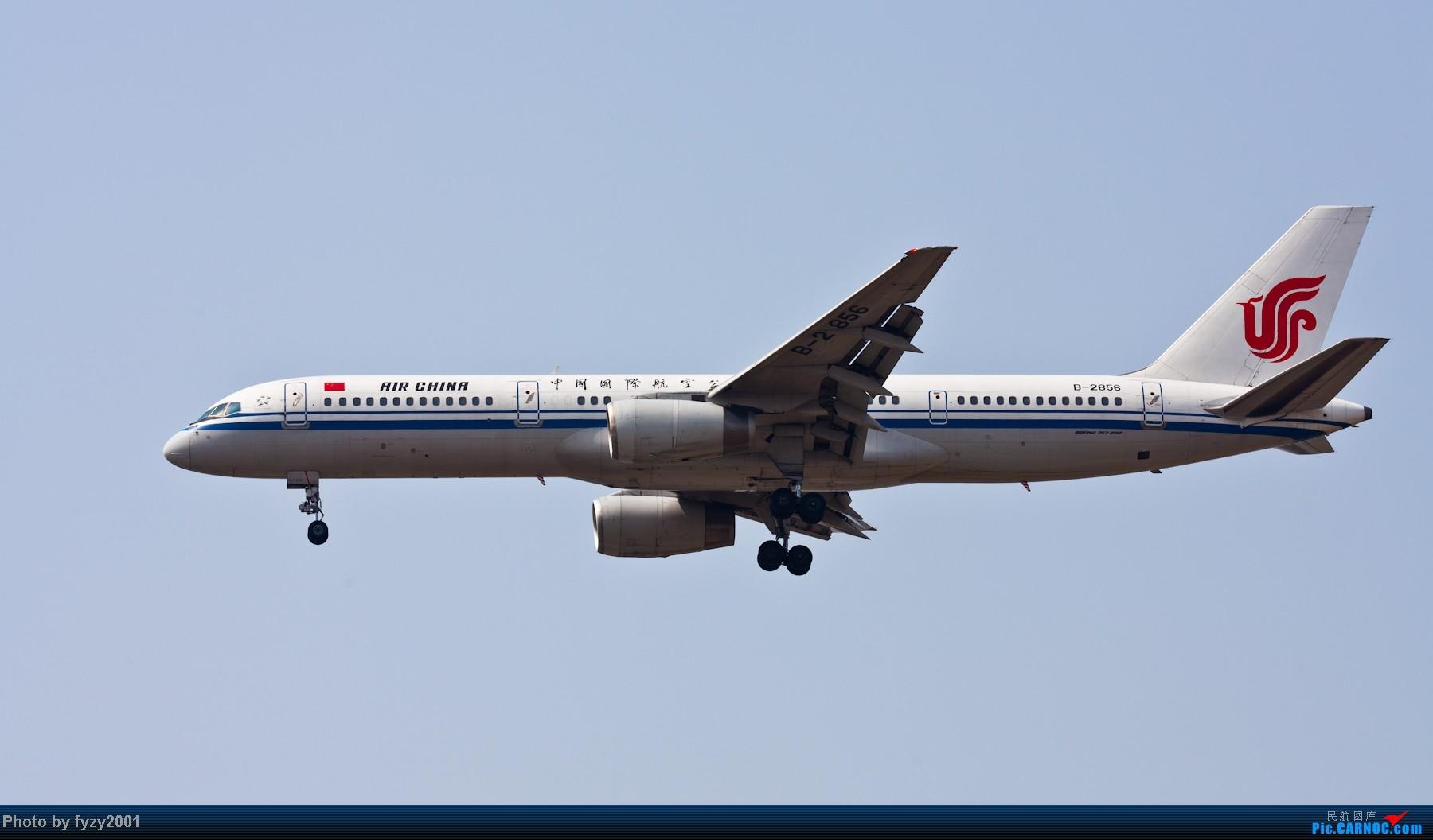 Re:[原创][无锡西站]RP爆表的拍摄-1800超大图 BOEING 757-200 B-2856 中国上海浦东机场