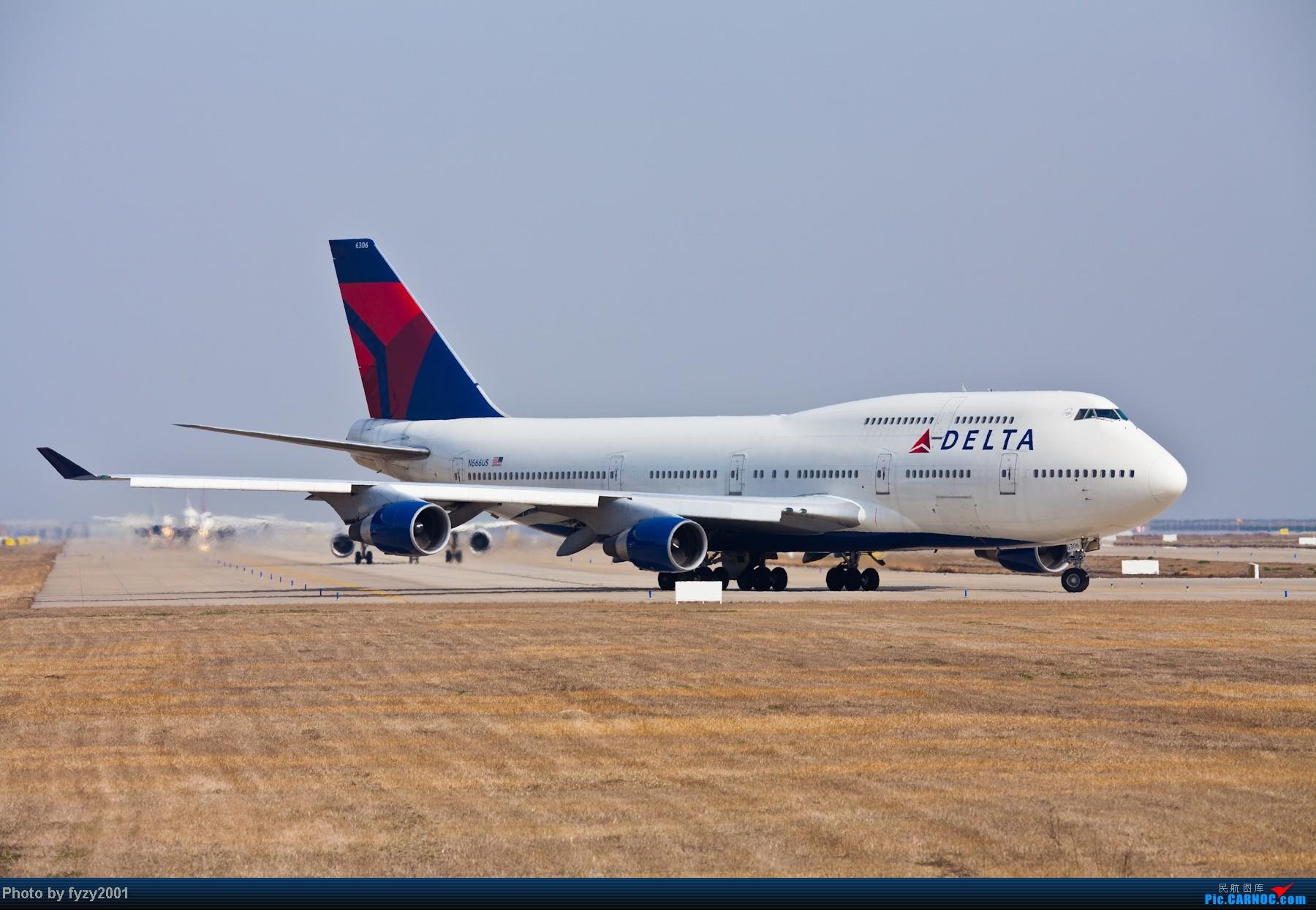Re:[原创][无锡西站]3月RP爆表的拍摄-各种MD11~1800超大图 BOEING 747-400 N666US 中国上海浦东机场