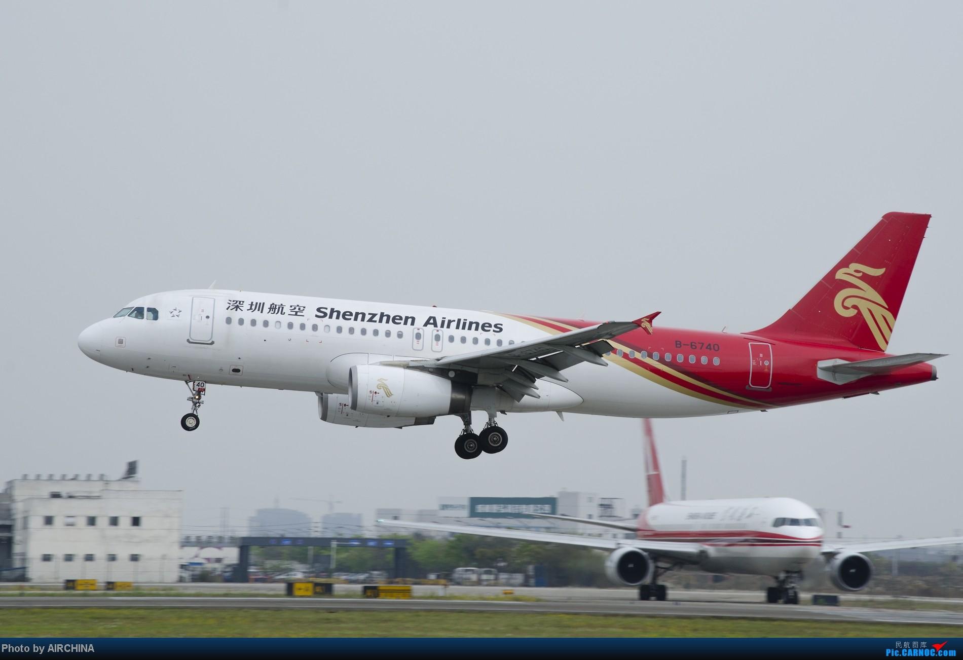 Re:[原创]天气好了,溜机场散散步。 AIRBUS A320-200 B-6740 中国成都双流机场