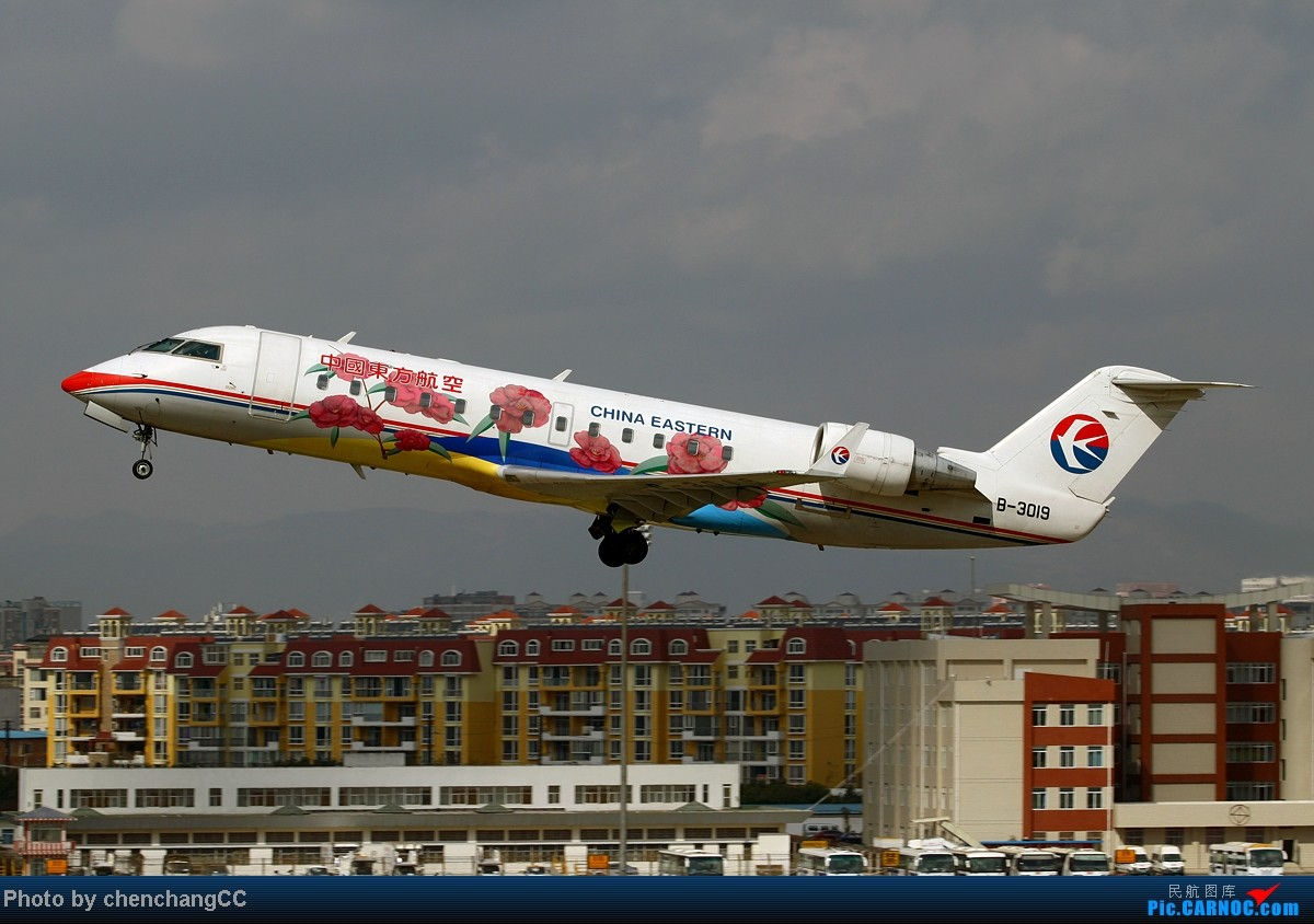 Re:[原创]【chenchangCC】继续丢库存,慢慢丢!关键词:巫家坝! BOMBARDIER (CANADAIR) CRJ-200 B-3019 中国昆明巫家坝机场