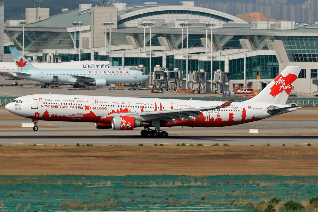 Re:[CASG]发几个图证明自己还存在... AIRBUS A330-200 9M-XAA 韩国首尔仁川机场