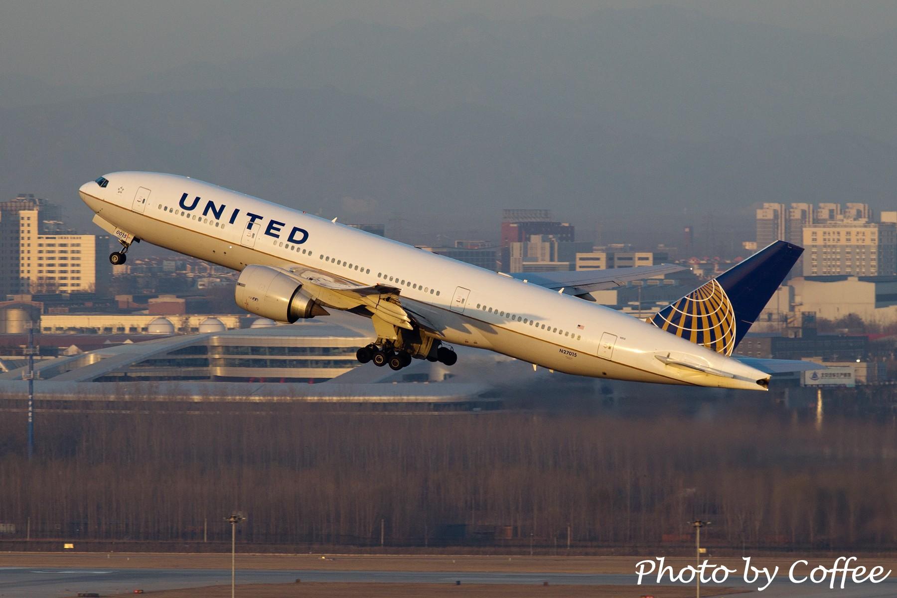 Re:从帝都飞走的各种777 BOEING 777-300 N27015 中国北京首都机场