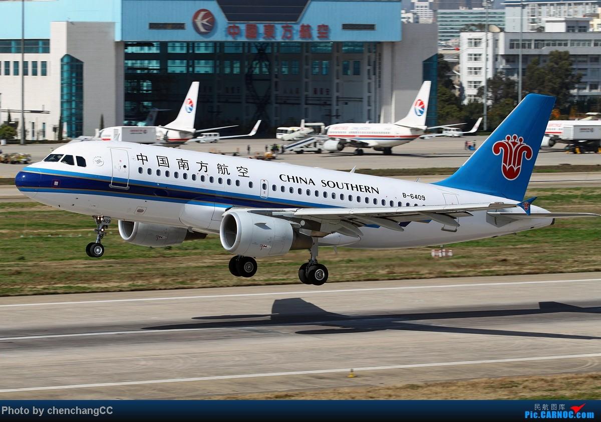 Re:[原创]【chenchangCC】清明大假生病在家,没事发组图 AIRBUS A319-100 B-6409 中国昆明长水机场
