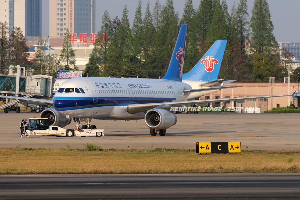 [原创]在骆岗拍飞机,头一次觉得收获还可以 AIRBUS A320-200 B-6976 中国合肥骆岗机场