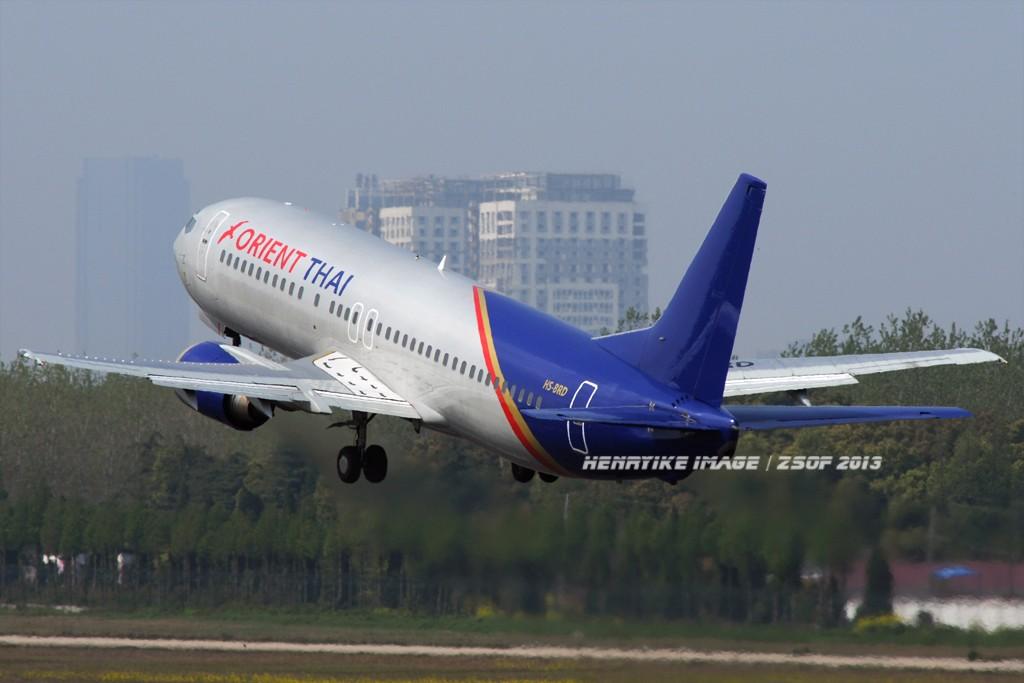 Re:[原创]在骆岗拍飞机,头一次觉得收获还可以 BOEING 737-400 HS-BRD 中国合肥骆岗机场