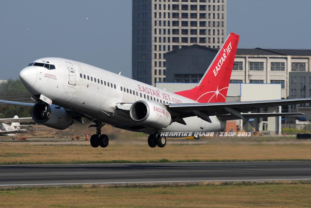 Re:[原创]在骆岗拍飞机,头一次觉得收获还可以 BOEING 737-700 HL7797 中国合肥骆岗机场