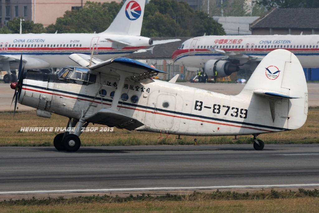 Re:[原创]在骆岗拍飞机,头一次觉得收获还可以 Y-5 B-8739 中国合肥骆岗机场