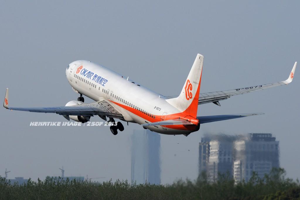 Re:[原创]在骆岗拍飞机,头一次觉得收获还可以 BOEING 737-800 B-5573 中国合肥骆岗机场