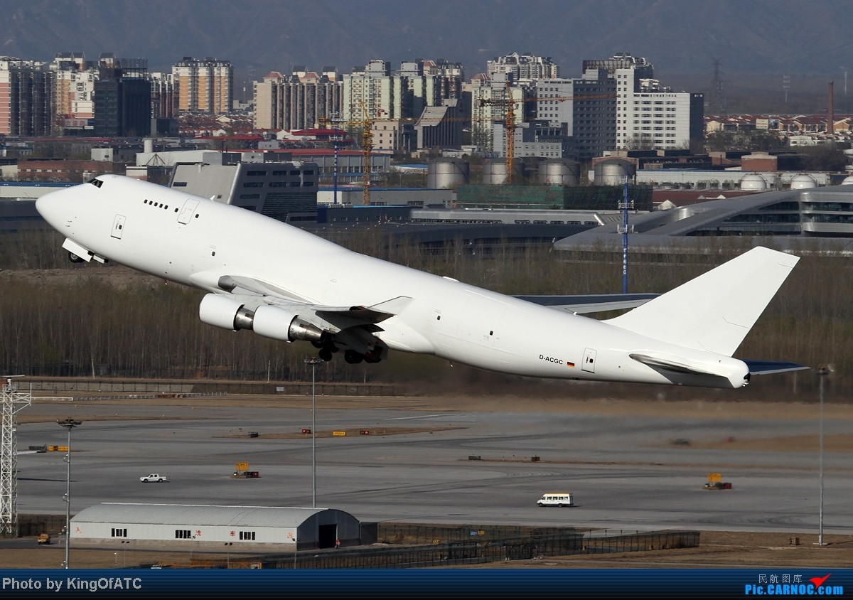 Re:[原创]**大白鲸**德国货运ACG白色光板747偷摸出现在帝都~~ BOEING 747-400 D-ACGC 中国北京首都机场