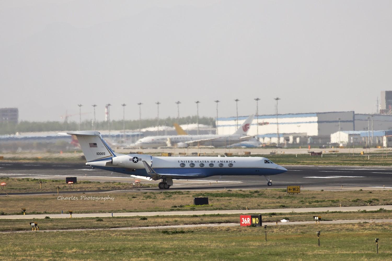 [原创]今日八卦台惊喜不断,逮到美国政府湾流和泰国的NOKAIR. GULFSTREAM AEROSPACE GULFSTREAM G550  中国北京首都机场