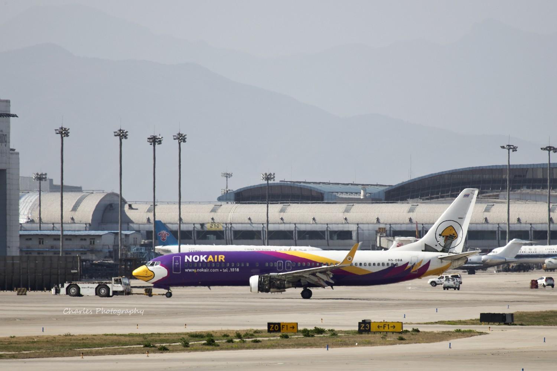 Re:[原创]今日八卦台惊喜不断,逮到美国政府湾流和泰国的NOKAIR. BOEING 737-800 HS-DBA 中国北京首都机场