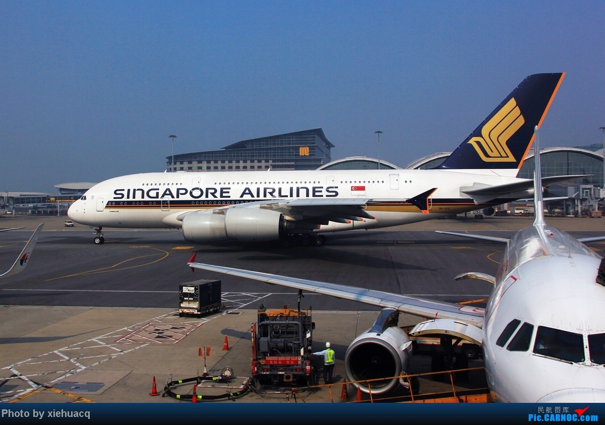 Re:[原创]【沉迷的小飞侠】TPE—HKG—CKG国泰国航带我回重庆:环游宝岛11天,感受台湾人情味(下)再会LH747-8,SQ、QF、EK380都来HKG AIRBUS A380 9V-SKQ 中国香港赤鱲角国际机场