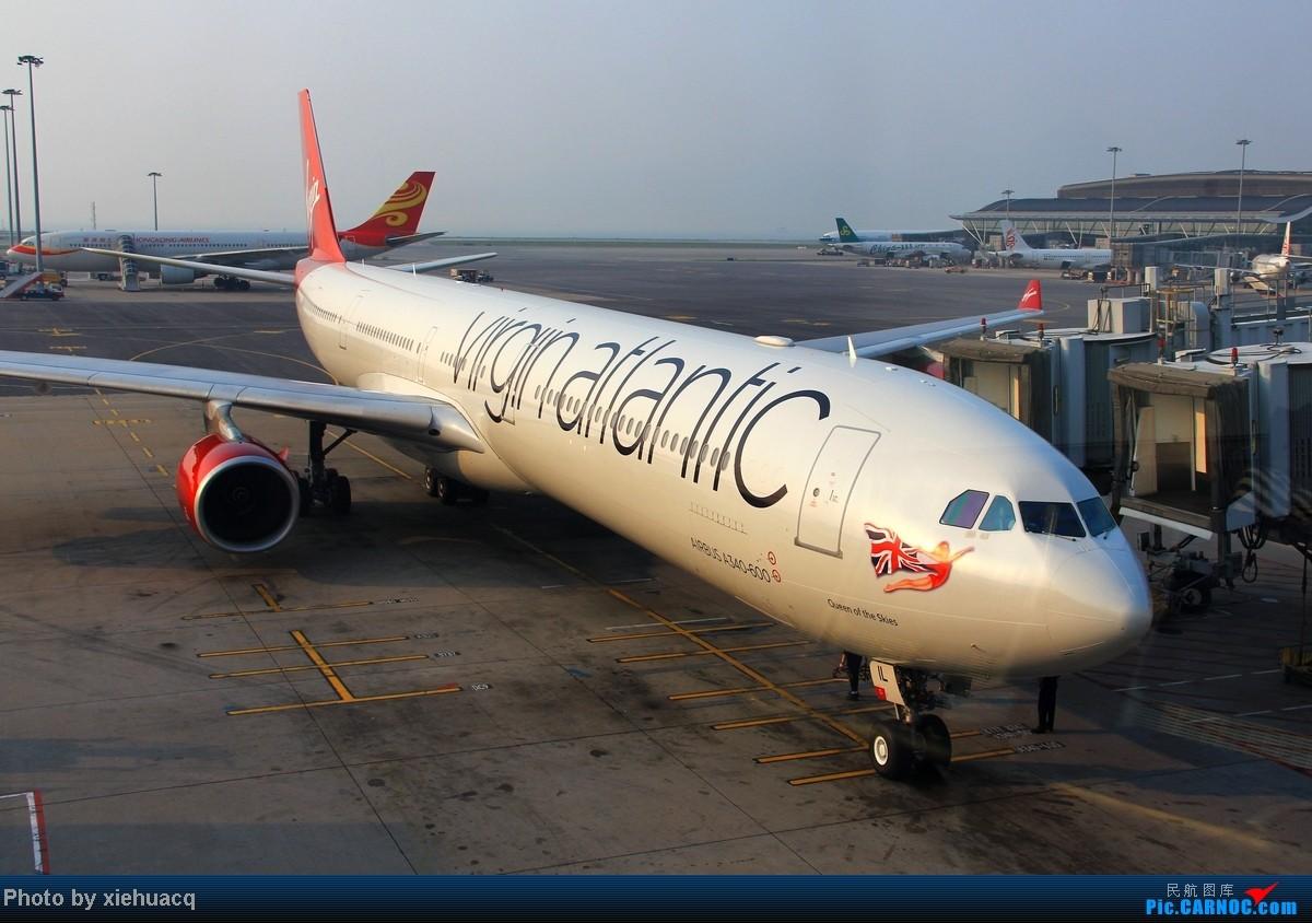 Re:[原创]【沉迷的小飞侠】TPE—HKG—CKG国泰国航带我回重庆:环游宝岛11天,感受台湾人情味(下)再会LH747-8,SQ、QF、EK380都来HKG AIRBUS A340-600 G-VEIL 中国香港赤鱲角国际机场