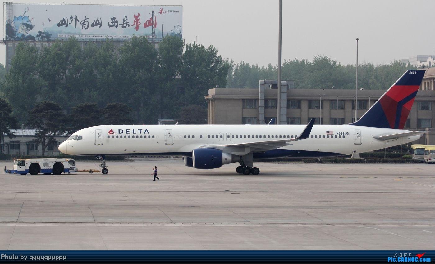 Re:[原创]五一小假期~北京迎来春暖花开的好天气。岂能错过这个拍机的好机会~ 757-200 N58US 中国北京首都机场