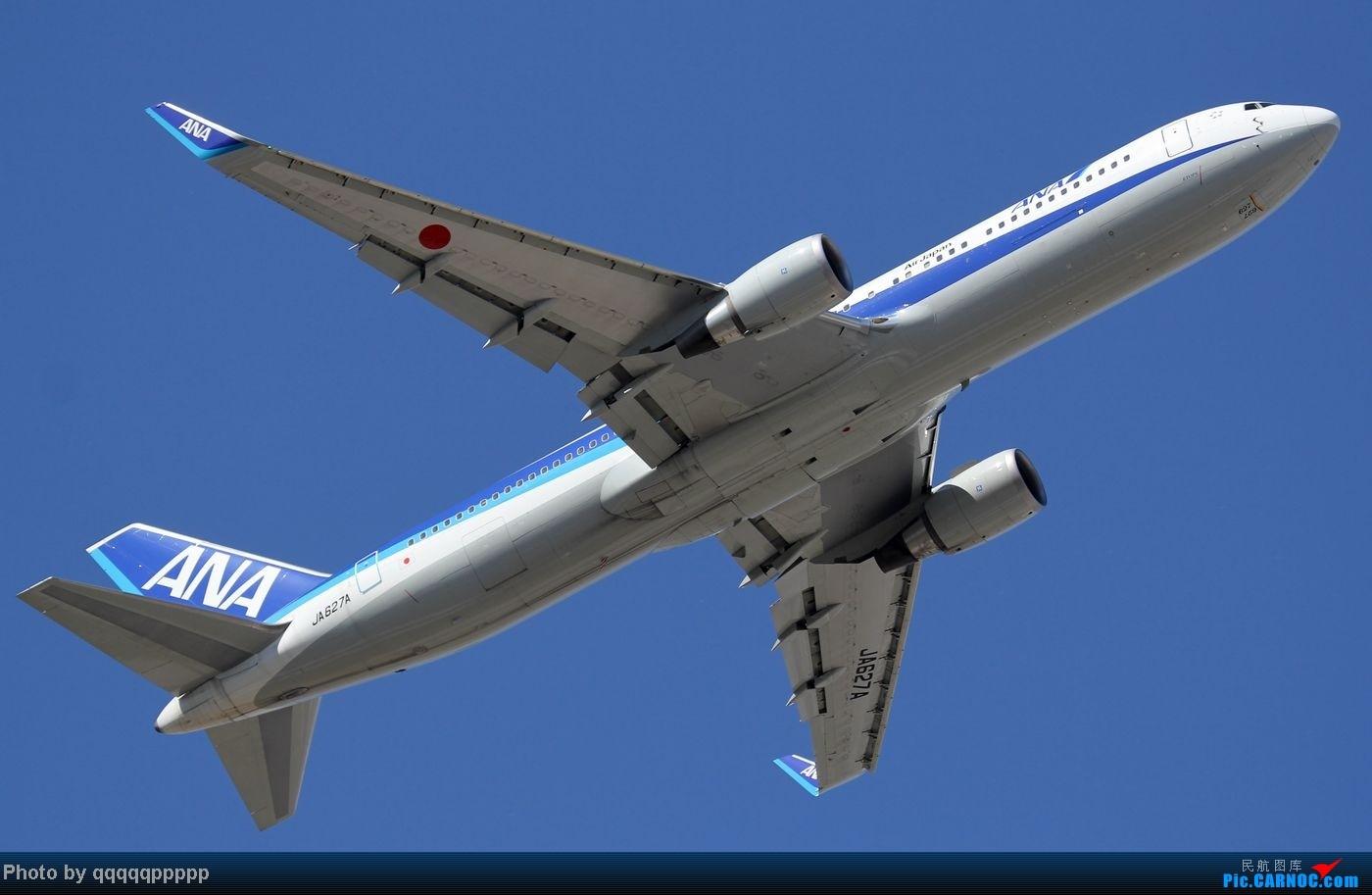 Re:[原创]五一小假期~北京迎来春暖花开的好天气。岂能错过这个拍机的好机会~ B767-300ER JA627A 中国北京首都机场
