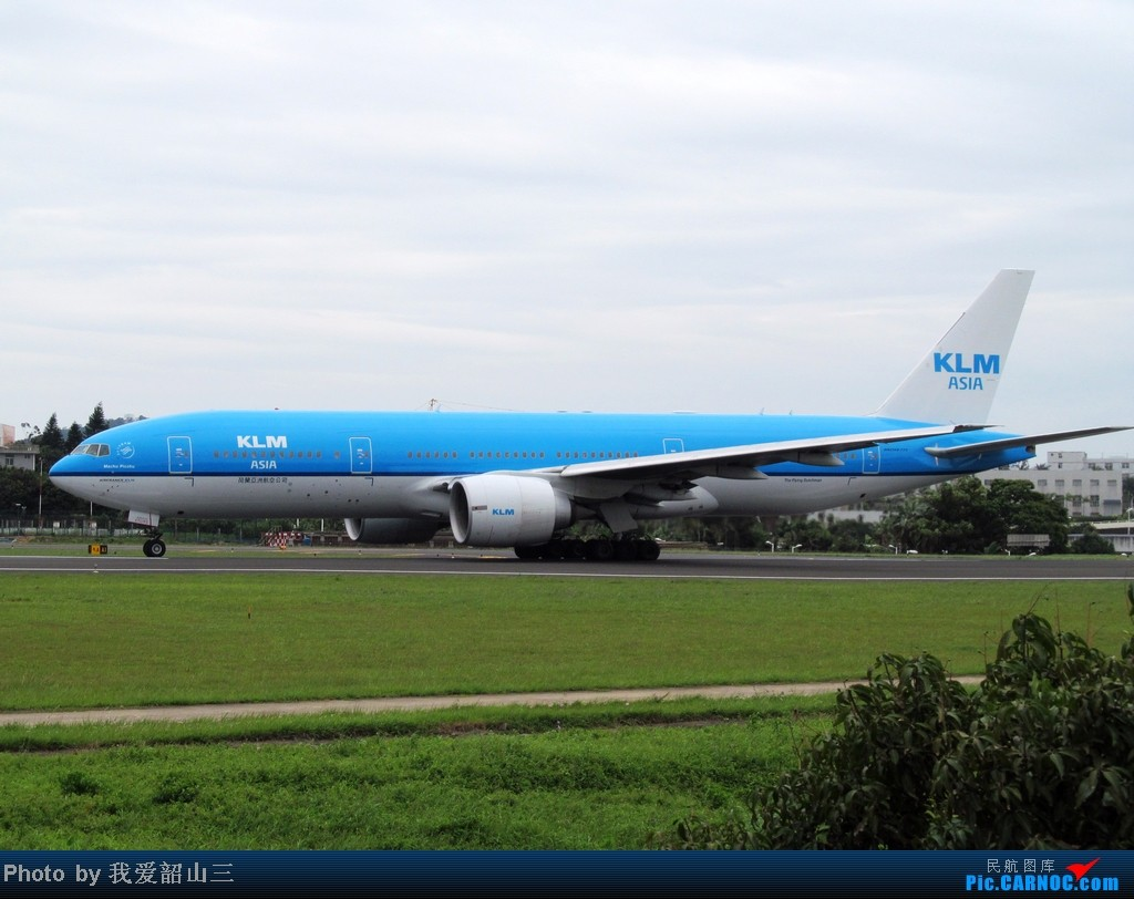 Re:[原创]5.1期间XMN拍机,华航744,KLM亚洲号,国航紫宸号,ANA星星及熊猫,阿斯塔纳752等 BOEING 777-200 PH-BQM 中国厦门高崎机场