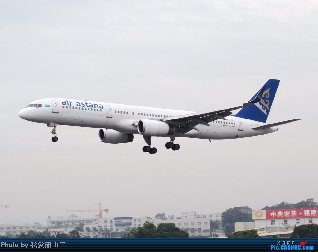 Re:[原创]5.1期间XMN拍机,华航744,KLM亚洲号,国航紫宸号,ANA星星及熊猫,阿斯塔纳752等 BOEING 757-200 P4-FAS 中国厦门高崎机场