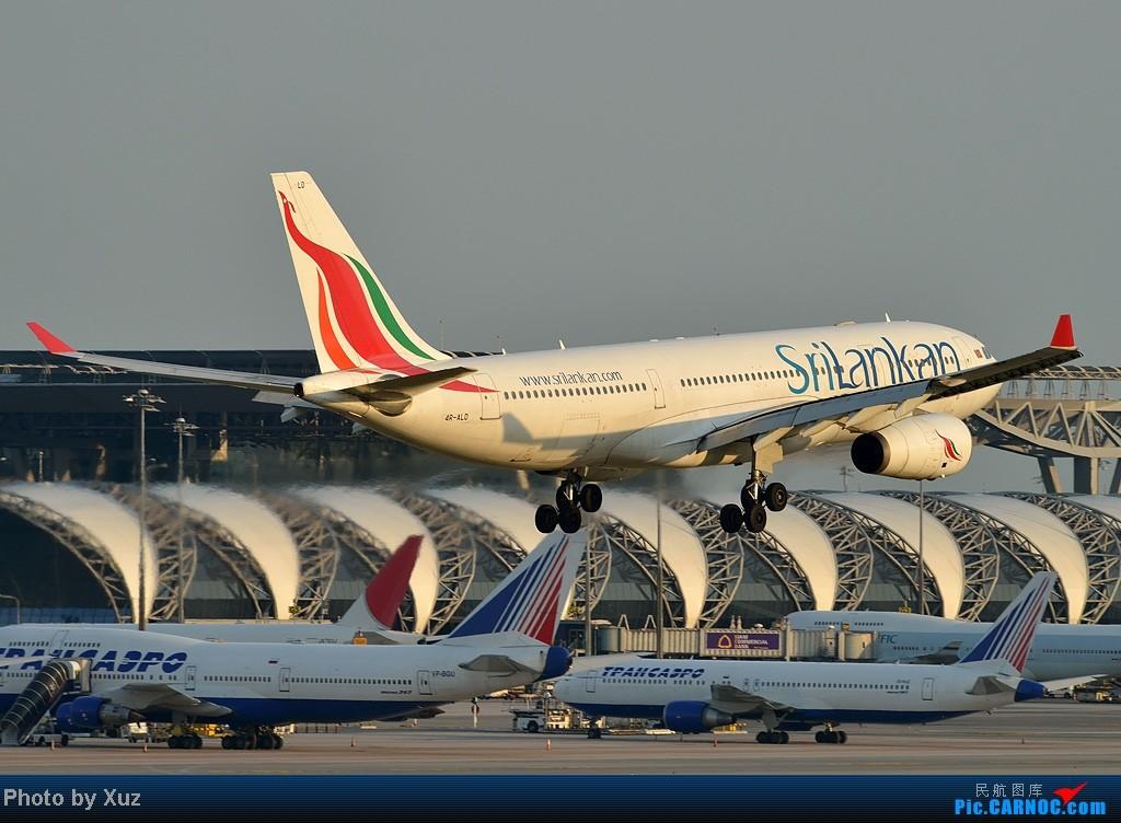 [原创]漂亮的飞机MM在华丽的曼谷机场翩翩起舞 AIRBUS A330-200 4R-ALD 泰国曼谷(素万那普)机场
