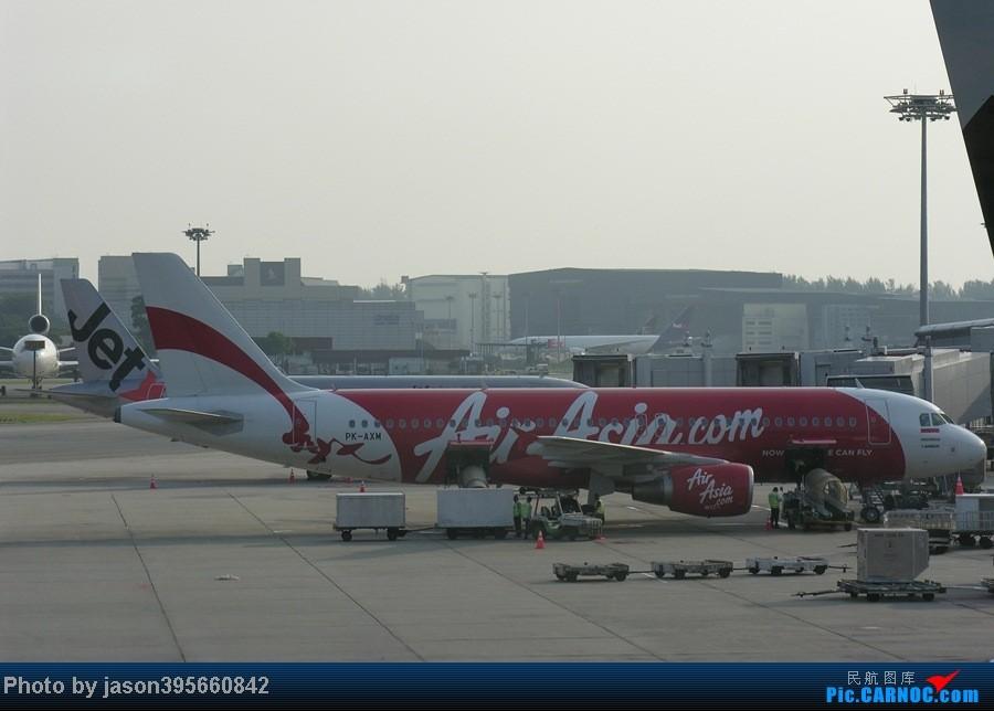Re:[原创]【翼飞冲天 空客A320】  上一组拍过的A320~ AIRBUS A320 PK-AXM 新加坡樟宜机场