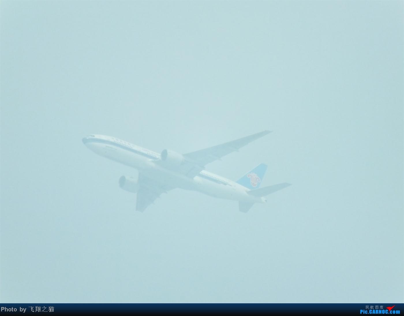 [原创]我也当回一图党 BOEING 777-200  重庆南坪上空