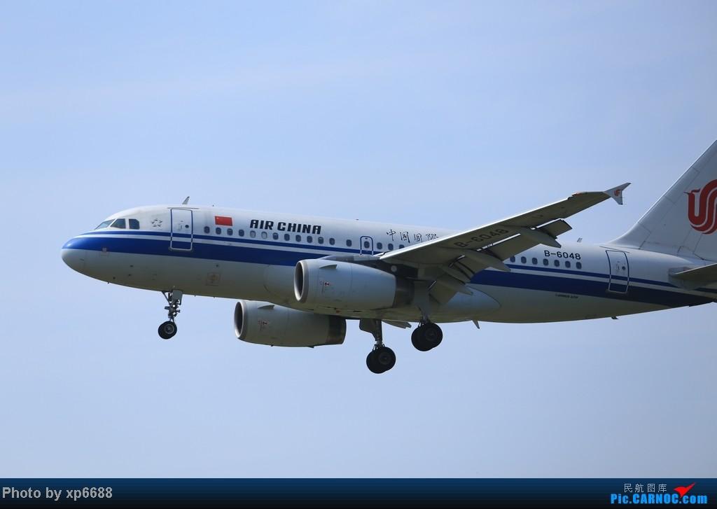 Re:[原创]萧山机场乱拍 AIRBUS A319-100 B-6048 中国杭州萧山机场