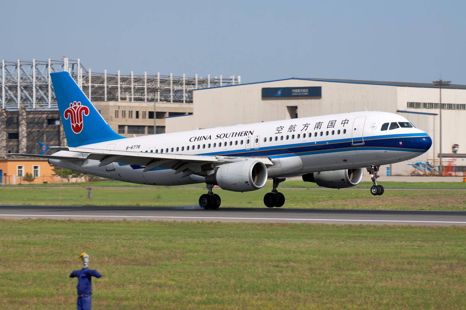 Re:[原创]周末SHE拍机组图【20P】 AIRBUS A320-214 B-6776 中国沈阳桃仙机场