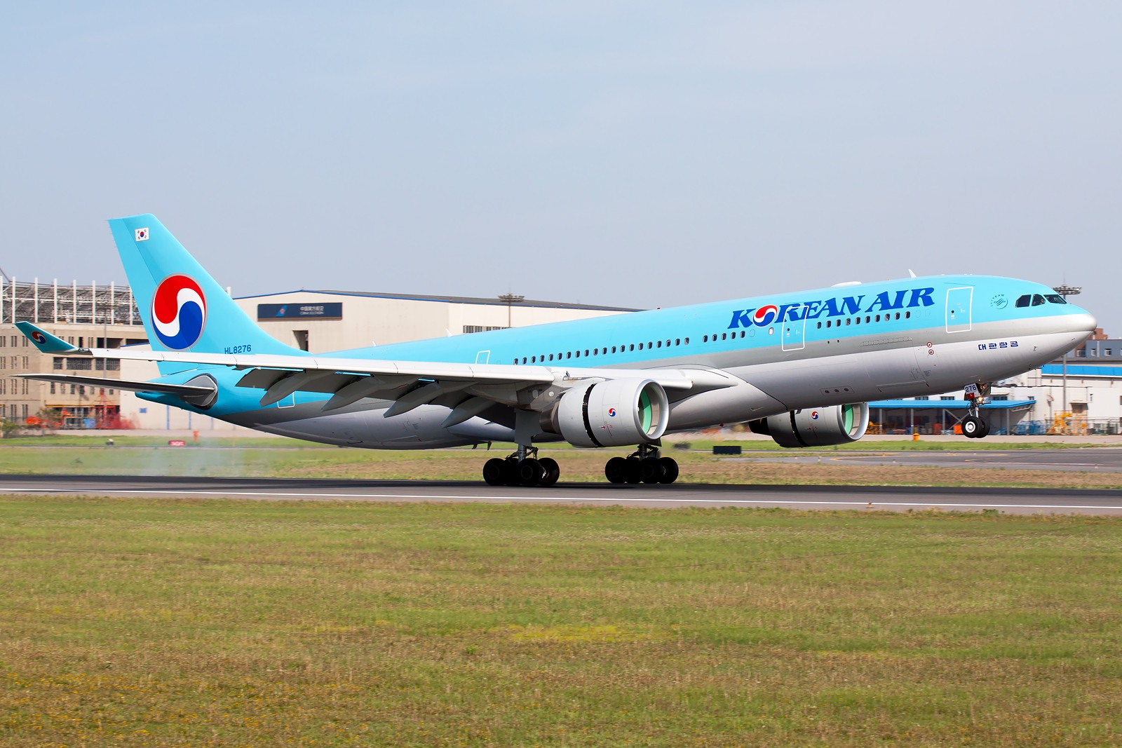 Re:[原创]周末SHE拍机组图【20P】 AIRBUS A330-223 HL8276 中国沈阳桃仙机场