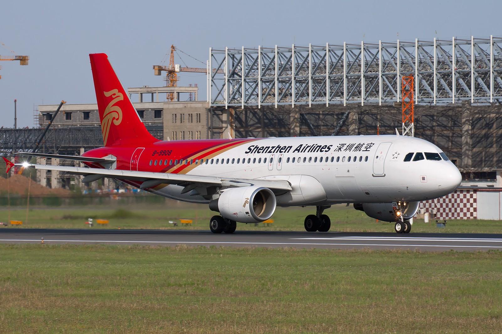 Re:[原创]周末SHE拍机组图【20P】 AIRBUS A320-214 B-9908 中国沈阳桃仙机场