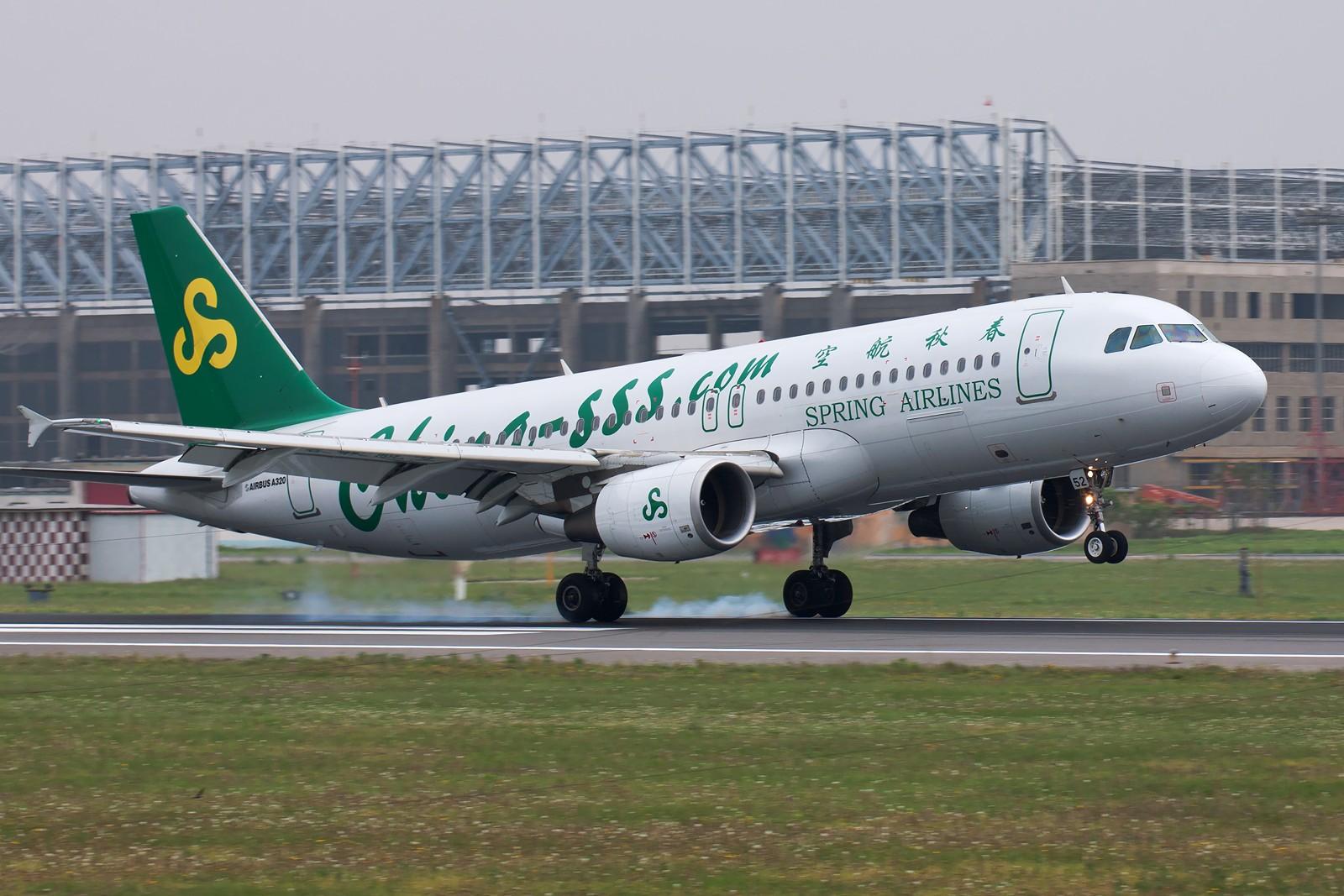 Re:[原创]周末SHE拍机组图【20P】 AIRBUS A320-214 B-6852 中国沈阳桃仙机场