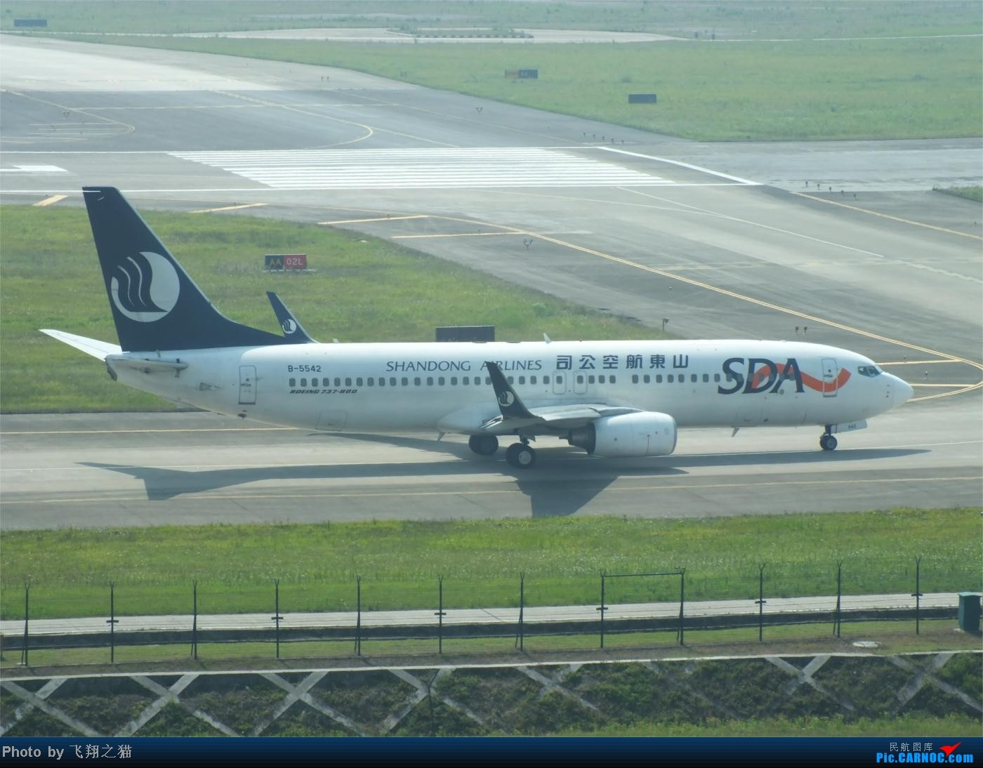 Re:[原创]烈日当空,坚持拍机(南航777F,332,大运号,花博号等) BOEING 737-800 B-5542 重庆江北国际机场