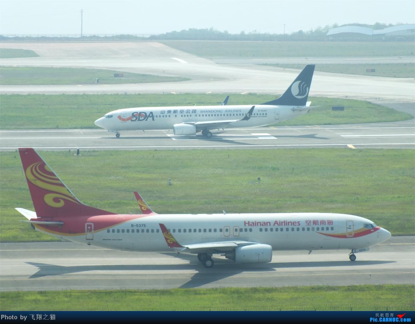 Re:[原创]烈日当空,坚持拍机(南航777F,332,大运号,花博号等) BOEING 737-800 B-5375 重庆江北国际机场
