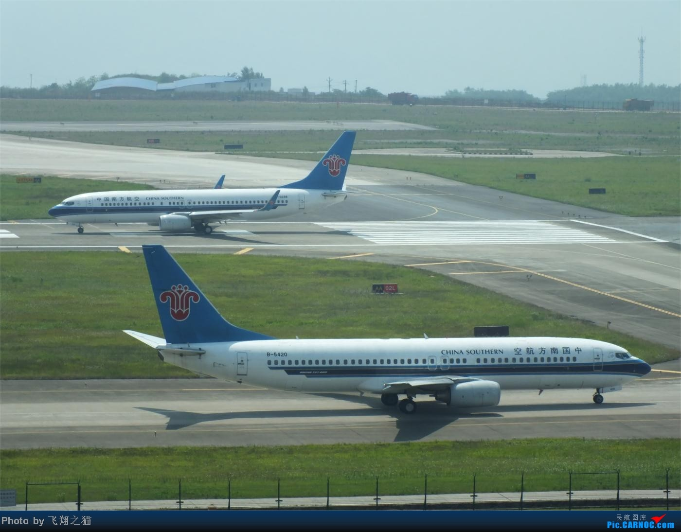 Re:[原创]烈日当空,坚持拍机(南航777F,332,大运号,花博号等) BOEING 737-800 B-5420 重庆江北国际机场