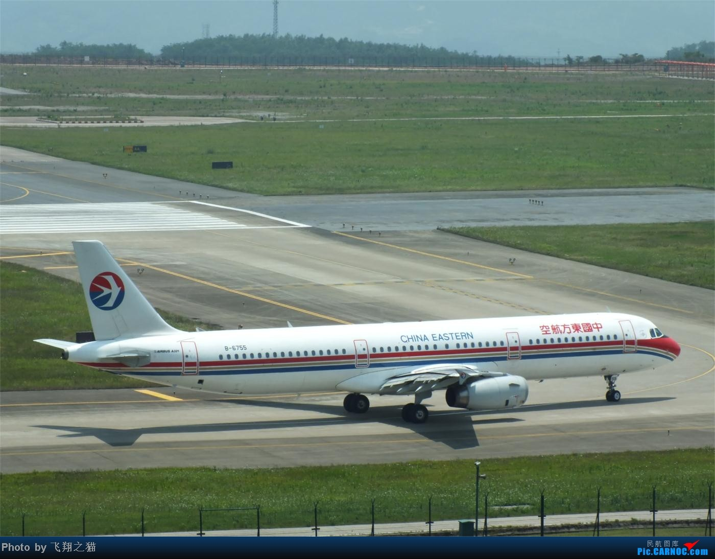 Re:[原创]烈日当空,坚持拍机(南航777F,332,大运号,花博号等) AIRBUS A321 B-6755 重庆江北国际机场