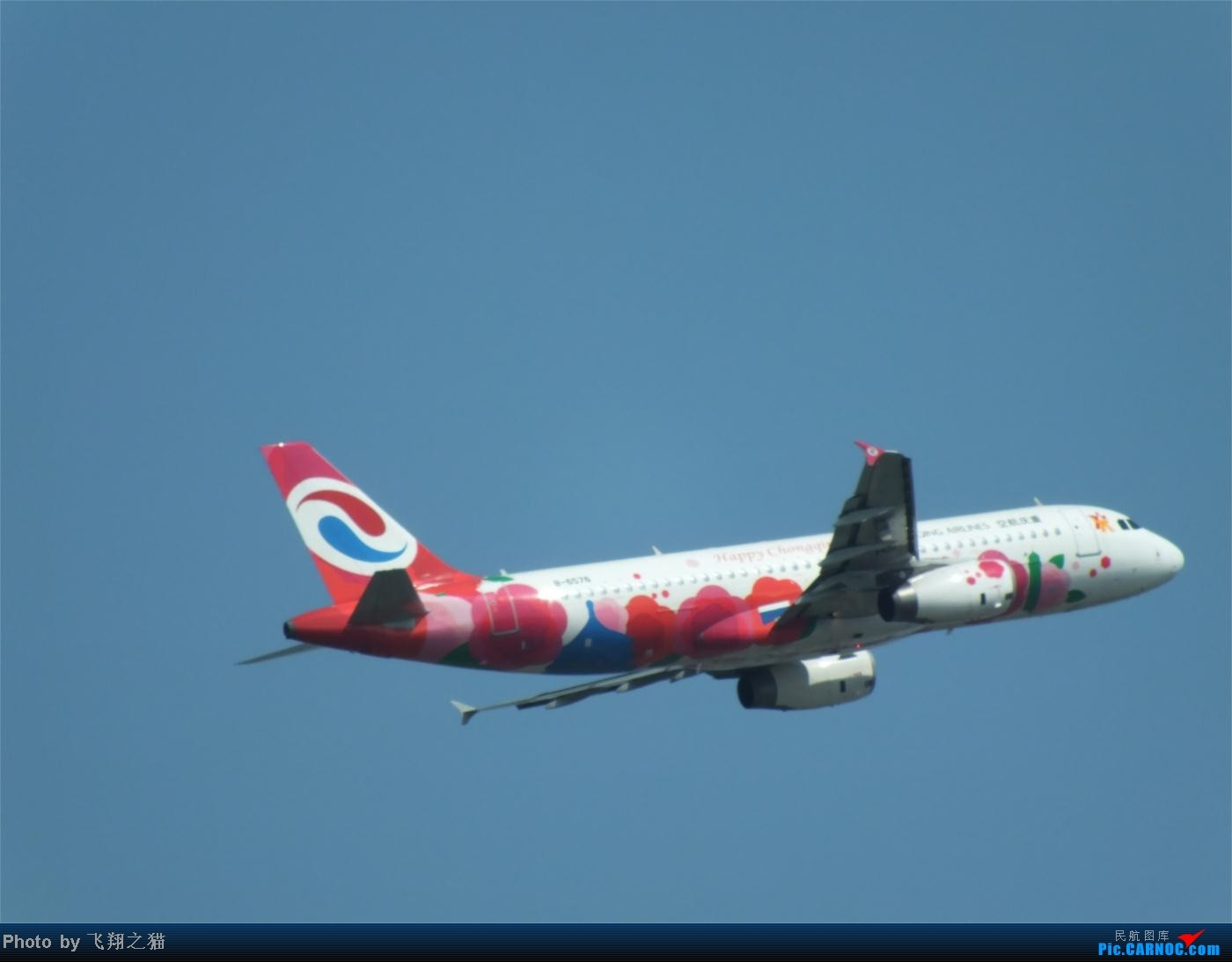 Re:[原创]烈日当空,坚持拍机(南航777F,332,大运号,花博号等) AIRBUS A320 B-6576 重庆江北国际机场
