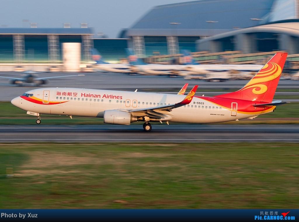 Re:[原创]一年有那么几天  好天 BOEING 737-800 B-5503 中国广州白云机场
