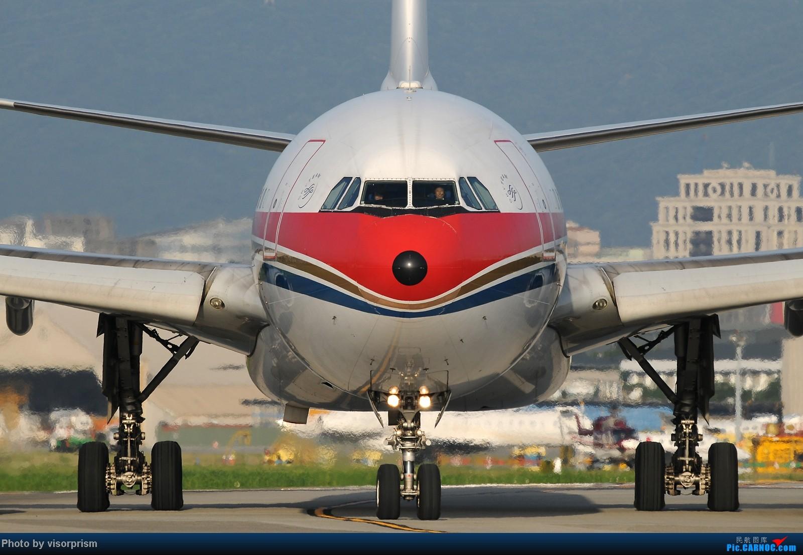 [原创][台北飛友會]SIGMA APO 500mm F4.5 DG HSM 鏡頭測試 AIRBUS A330-300 B-6506 中国台北松山机场