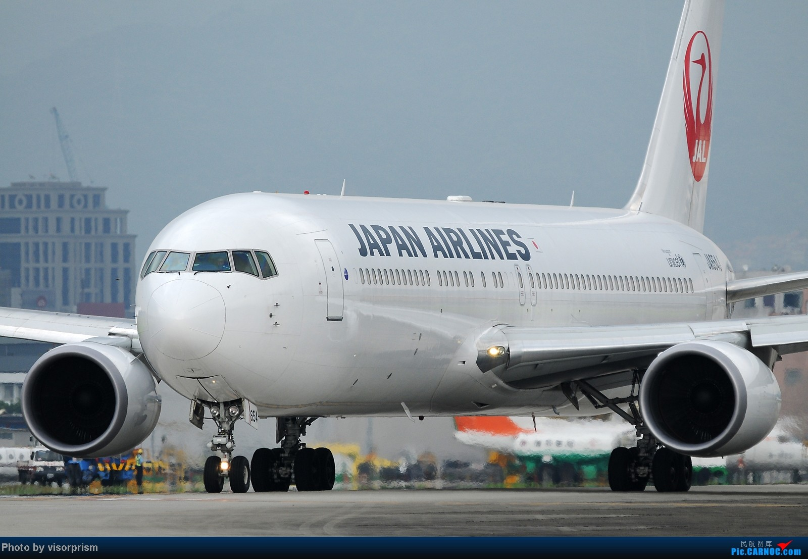Re:[原创][台北飛友會]SIGMA APO 500mm F4.5 DG HSM 鏡頭測試 767-346/ER JA654J 中国台北松山机场