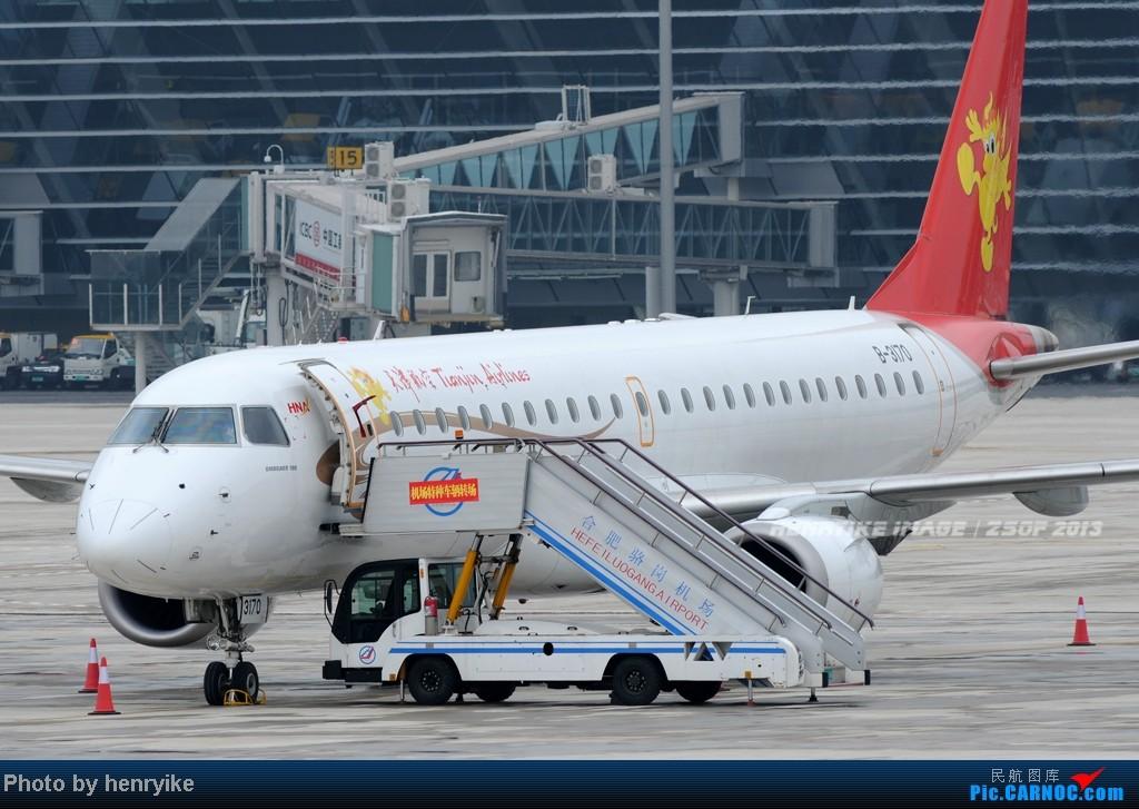 Re:[原创]【骆幕迎新】新桥机场运行第一天,努力寻找各种拍机位 EMBRAER ERJ-190 B-3170 中国合肥新桥机场