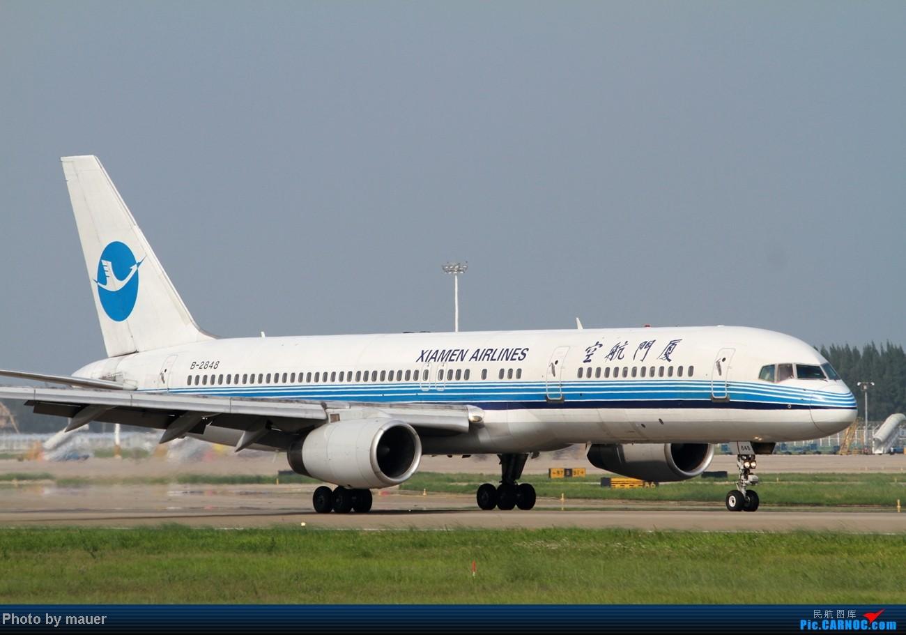 Re:[原创]大热天 去拍机 BOEING 757-200 B-2848